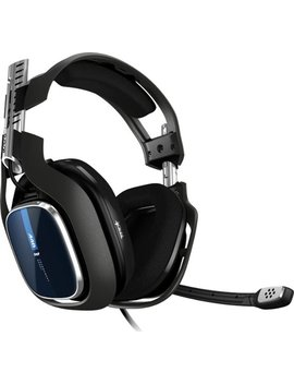 A40 Tr Wired Stereo Gaming Headset For Ps4, Pc With Mix Amp Pro Tr Controller   Blue/Black by Astro Gaming