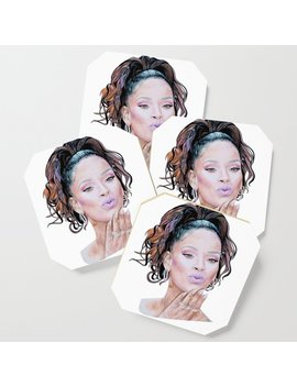 Rihanna Coaster by Society6