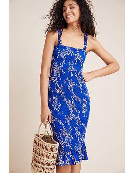 Faithfull Farah Smocked Midi Dress by Faithfull