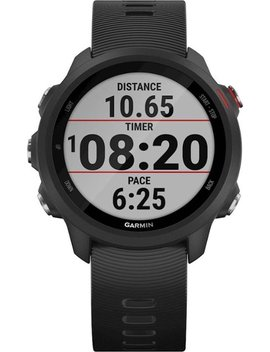 Forerunner 245 Music Gps Heart Rate Monitor Running Smartwatch   Black by Garmin