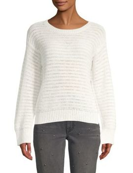 Textured Long Sleeve Sweater by Joie