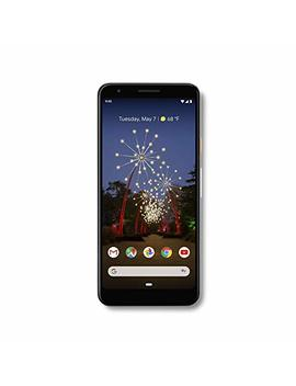 Google   Pixel 3a With 64 Gb Memory Cell Phone (Unlocked)   Clearly White by Google