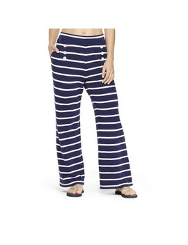 Women's Striped Pants   Navy/White   Vineyard Vines® For Target by Navy/White
