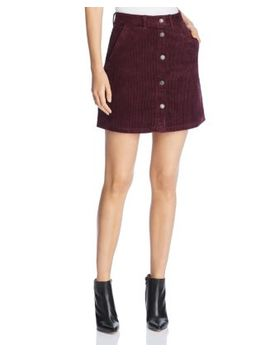 Clea Wide Wale Corduroy Mini Skirt by Vero Moda