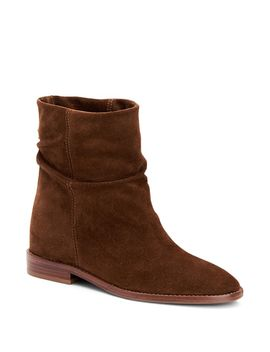 Women's Caleigh Weatherproof Suede Slouch Booties by Aquatalia