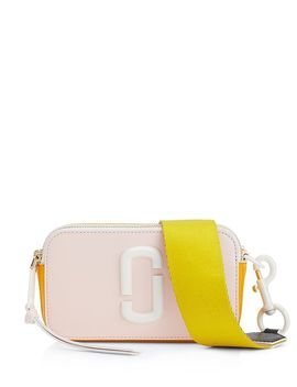 Snapshot Ceramic Leather Crossbody by Marc Jacobs