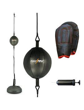 Maxx Mma Double End Striking Punching Bag Kit by Maxx Mma