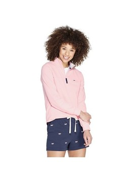 Women's 1/4 Zip Pullover Sweatshirt   Pink   Vineyard Vines® For Target by Pink