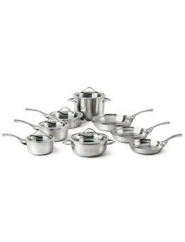 Calphalon Contemporary Stainless 13 Piece Cookware Set by Calphalon
