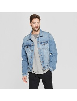 Men's Denim Trucker Jacket   Goodfellow &Amp; Co by Goodfellow & Co