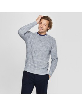 Men's Standard Fit Long Sleeve Crew Neck Pullover Sweater   Goodfellow &Amp; Co by Goodfellow & Co
