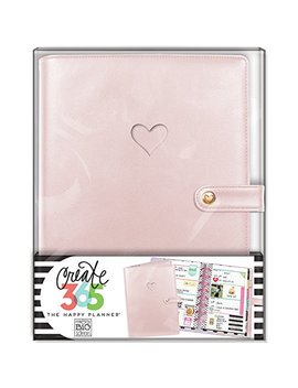 Me & My Big Ideas  Codm 04 Create 365 The Happy Planner Mini Deluxe Cover, Rose Gold by Me & My Big Ideas