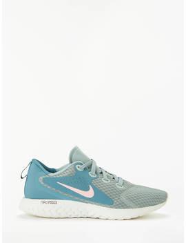 Nike Legend React Women's Running Shoe, Mica Green/Rust Pink/Celestial Teal by Nike