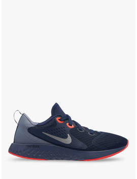 Nike Children's Rebel React Trainers, Dark Blue, Dark Blue by Nike