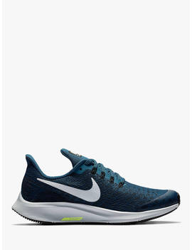Nike Children's Air Zoom Pegasus 35 Running Shoes, Teal/Silver by Nike