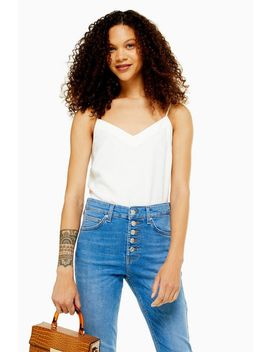 Petite V Neck Insert Cami by Topshop