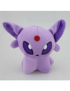 "New Purple Pokemon Plush Stuffed Soft Toy Doll Espeon Figure 5"" 12 Cm Cute Gift by Unbranded/Generic"