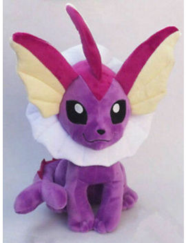 "Plush New Pokemon Shiny Vaporeon Purple Stuffed Toy Doll Figure 12""High by Unbranded"