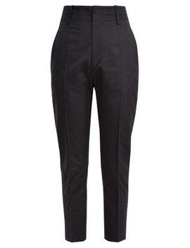 Noah Cropped Cotton Blend Trousers by Isabel Marant Étoile