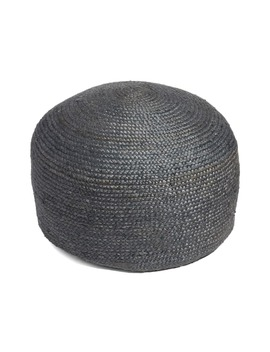 Round Jute Pouf by Treasure & Bond