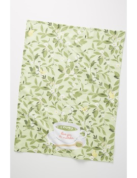 Amy Heitman Matcha Dishtowel by Anthropologie