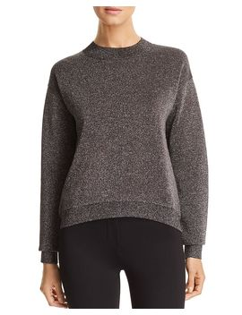 Funday Mock Neck Glitter Sweater by Boss