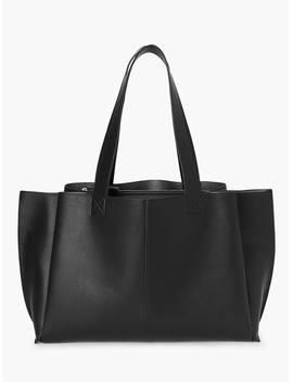 Kin Rin Work Tote Bag, Black by Kin