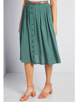 Bookstore's Best Midi Skirt by Modcloth