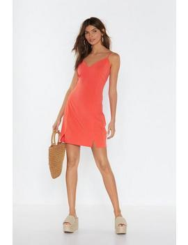 Strappy Mini Cami Dress by Nasty Gal
