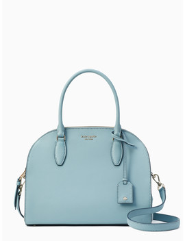 Reiley Mixed Material Large Dome Satchel by Kate Spade