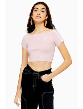 Off Shoulder T Shirt By Adidas by Topshop