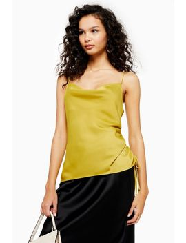 Ruched Side Camisole Top by Topshop