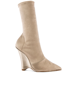 Season 8 Stretch Satin Wedge Ankle Boot by Yeezy