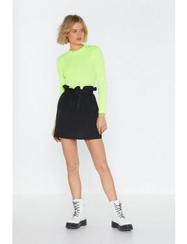 Bring It Bag To Me D Ring Mini Skirt by Nasty Gal