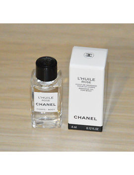 New! Just Arrived! Chanel L'huile Rose Massage Oil For Body 4 Ml Miniature Nib by Ebay Seller