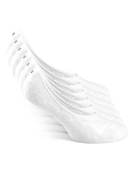 Snocks No Show Socks (6 Pairs)   (Black/White/Grey) German Brand (Size 3 15)   Men & Women by Snocks