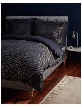 John Lewis & Partners Textured & Decorative Art Deco Bedding by John Lewis &Amp; Partners