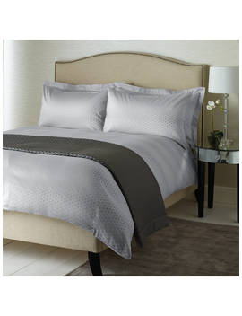 John Lewis & Partners Boutique Hotel Geo Jacquard Cotton Bedding by John Lewis &Amp; Partners