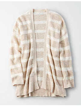 Ae Striped Jegging Cardigan by American Eagle Outfitters