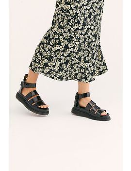 Dr. Martens Clarissa Ii Flatform Sandal by Dr. Martens