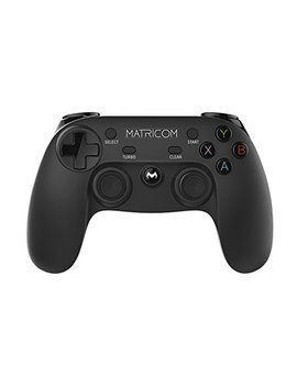 Matricom G Pad Xyba Wireless Rechargeable Bluetooth Pro Game Pad Joystick Controller (Samsung Gear Vr, Pc, Ps3, And G Box Compatible!) by Matricom