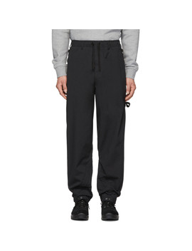 Black Articulation Tunnel Trousers by Stone Island Shadow Project