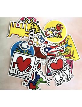 14pcs Keith Haring Stickers Pack/Vinyl Stickers/Laptop Stickers/Bumper Sticker/Custom Sticker/Sticker Pack/Laptop Decal/Skateboard Stickers by Etsy