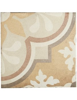 porcelain-cement-look-8-x-8-inch-warm-blend-decorative-tile-in-grande-fiore by generic
