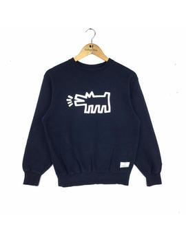 Rare Keith Haring Pop Art Sweatshirt S Size by Etsy