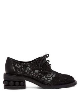 Casati Mesh Derby Shoes by Nicholas Kirkwood