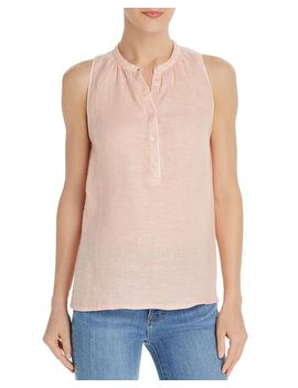 Tamaline Sleeveless Popover Top by Joie