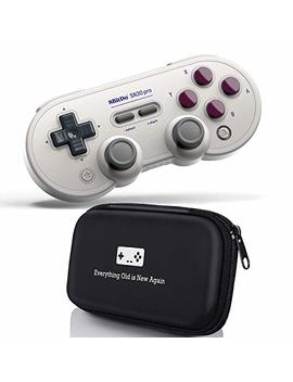 Geek Theory 8 Bitdo Sn30 Pro Bluetooth Controller (G Classic Edition) Bundle   Includes Carrying Case   For Nintendo Switch, Pc, Mac Os & Android by Geek Theory