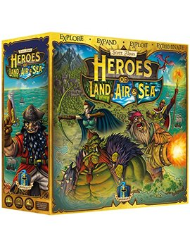 Heroes Of Land, Air & Sea Unpainted   4 X Rts Large Scale Board Game by Gamelyn Games