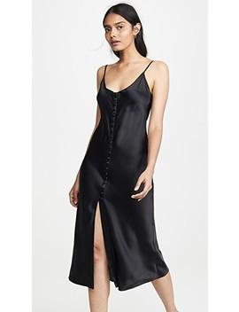 Carla V Neck Slip Dress by Sablyn